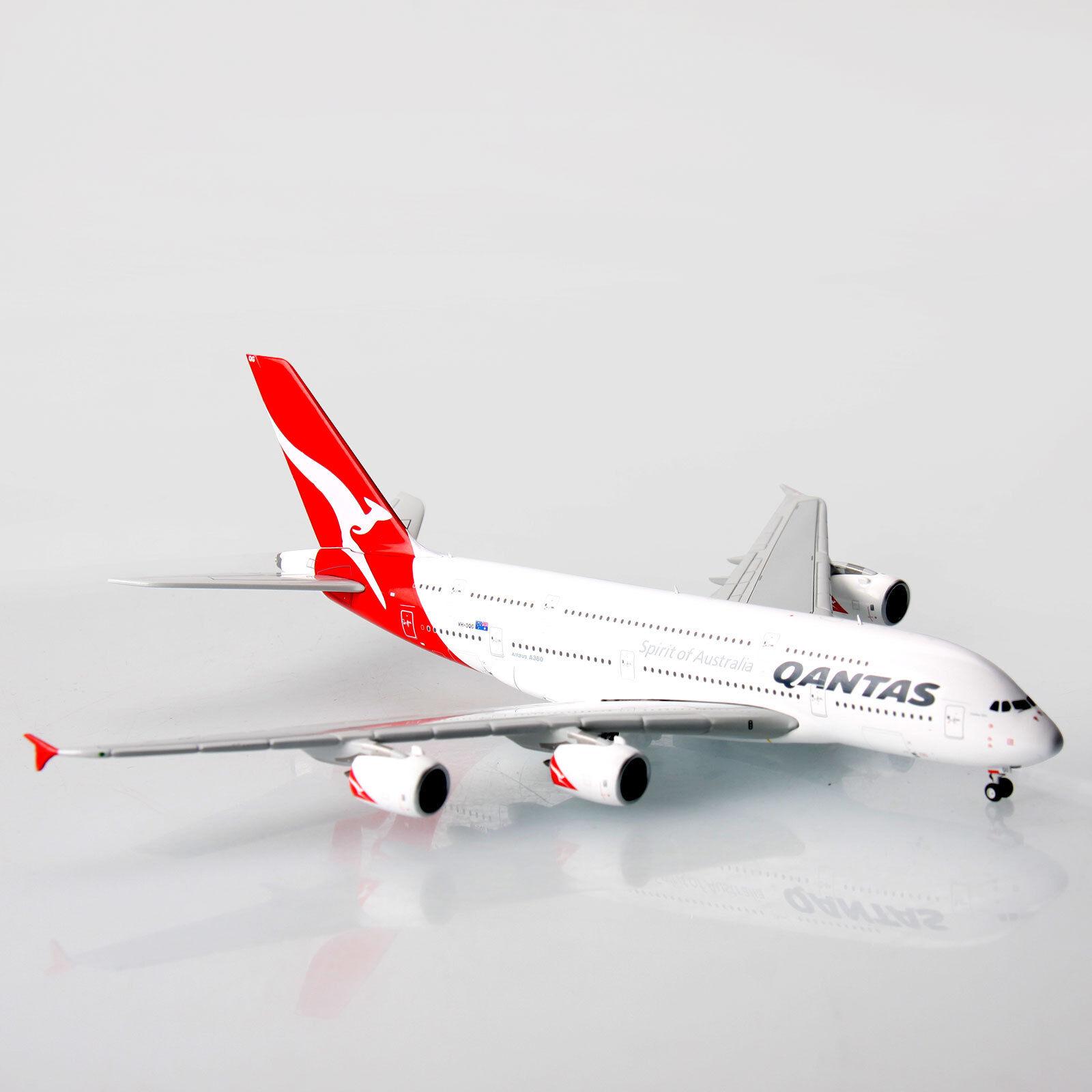 Qantas Airbus A380 VH-OQG 1 400 Scale Die-Cast Model A380 Replica Aircraft