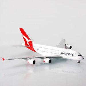 Qantas-Airbus-A380-VH-OQG-1-400-Scale-Die-Cast-Model-Plane-A380-Replica-Aircraft