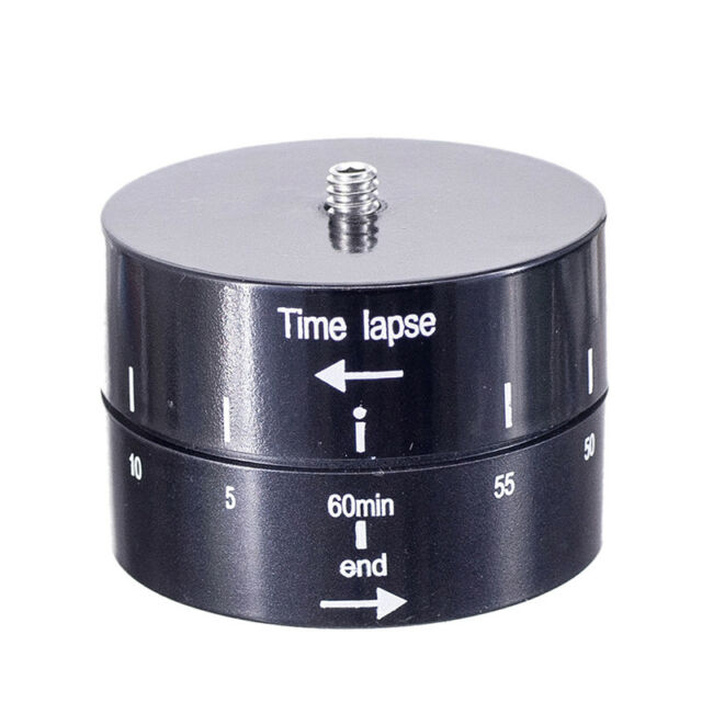 360° Panning Rotating Time Lapse Stabilizer for Camera Mobile Phone Ea_DM