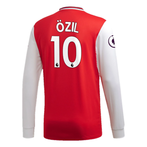 EH5645 adidas Arsenal 2019-20 Lange mouw mannen's Home Jersey Ozil 10