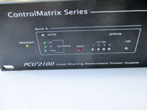 Other Presentation Equipment Peavey Control Matrix Series PCU-2100 ...