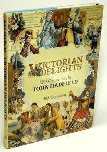 Victorian-Delights-by-John-HADFIELD-the-art-of-the-19th-century-VG-HC-w-DJ