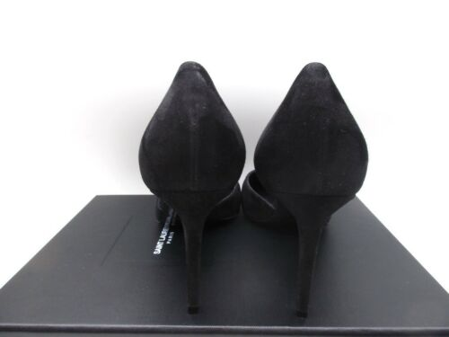 9 D'orsay Suede Paris 5 Pumps Black 5 Skinny 39 Shoes Saint 80 Laurent wx1IPqWY4g