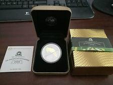 2008 Australian Kookaburra 1 oz Silver Gilded Coin ANDA Coin Show