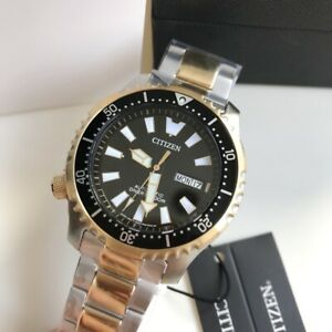 Citizen-Promaster-Diver-Watch-NY0094-85E-Automatic-Asia-Limited-Gold-amp-Silver