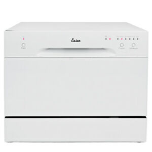 Details about Countertop Dishwasher White Portable Compact Energy Star  Apartment Dish Washer