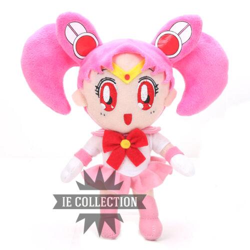 SAILOR MOON 9 PELUCHE PUPAZZI PERSONAGGI chibi serenity bunny plush figure doll