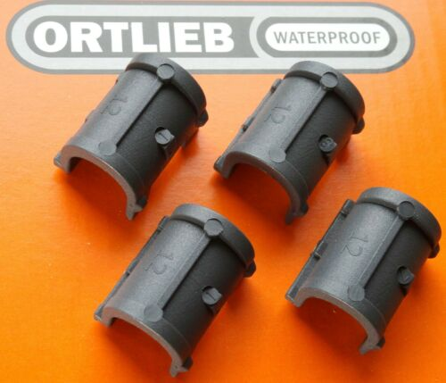 Ortlieb Inserts for QL2.1 Pannier Hooks for 12mm diameter rack tubing 4 pieces