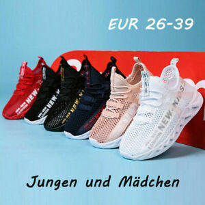 Kids Sports Shoes Casual Running Trainers Girls Comfy School Jog Sneakers NEW