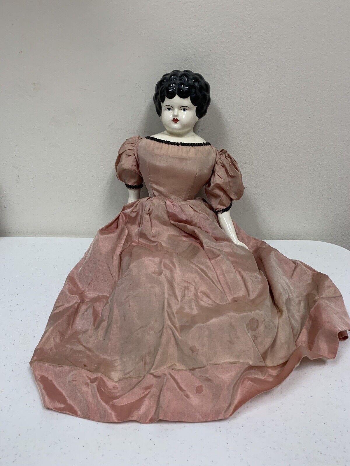 """Jennie June Porcelain Doll  19"""""""