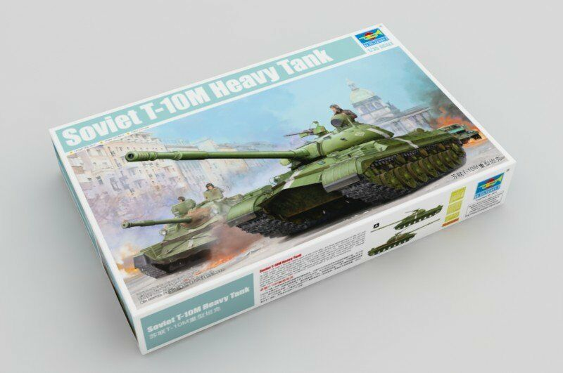 05546 Trumpeter Russian T-10M Heavy Tank Hobby Static Kit 1 35 Model Military
