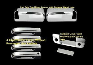 Chrome Covers For 2010 2016 Dodge Ram 2500 3500 Tailgate