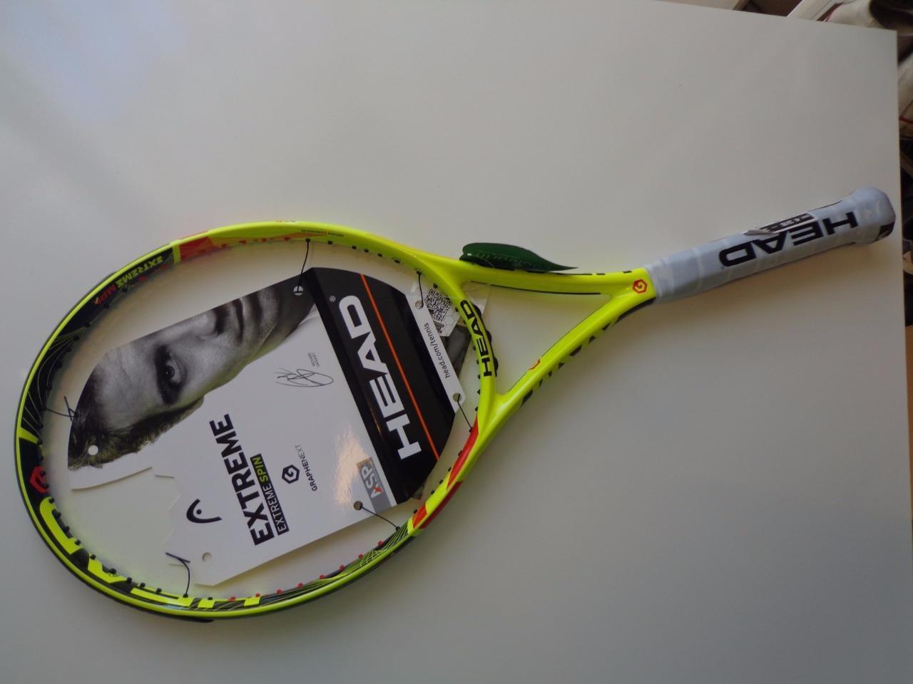 Nuevo Head Graphene Xt Extreme MPA 100 cabeza 4 3 8 Grip Tenis Raqueta