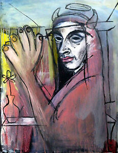 Tableau-original-peinture-acrylique-sur-toile-signe-Artiste-FLAVIEN-COUCHE