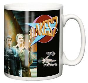 Dirty Fingers Mug, Blake's 7 TV Series 1970's Retro science Fiction Gift