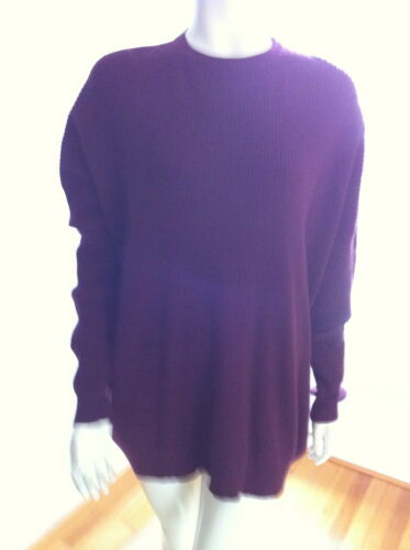 Vintage Solid bordeau Romeo Gigli tunic sweater in