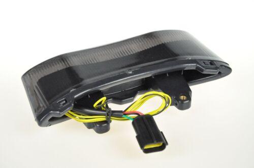 Smoke Led Brake Rear Light Integrated Turn Signal For Triumph 12-16 Speed Triple