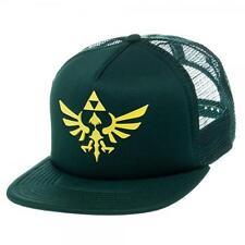 New Licensed Nintendo Legend of Zelda Rubber Triforce Logo Snapback Hat SICK LID