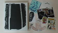 Libro de arte de la pintada JAP & pegatina lote/conjunto Bigfoot Faile Obey neckface Street Art