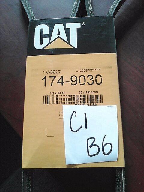 Genuine OEM Caterpillar CAT V-Belt 174-9030   V