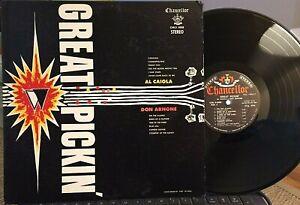 Al-Caiola-amp-Don-Arnone-LP-Great-Pickin-Chancellor-CHL-5008-1960-EX