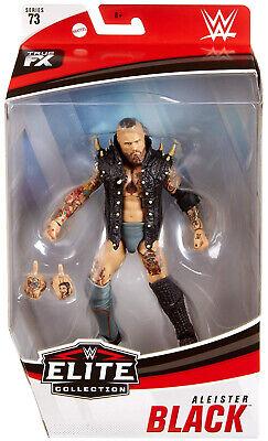 WWF WWE Elite Mattel Wrestling Figure Aleister Noir nouvelle série 73