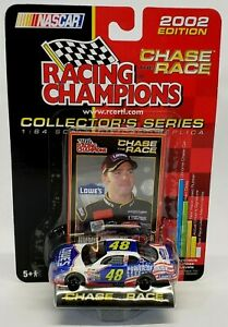 Racing-Champions-Jimmie-Johnson-48-Lowes-2002-Power-of-Pride-NASCAR-Diecast-1-64