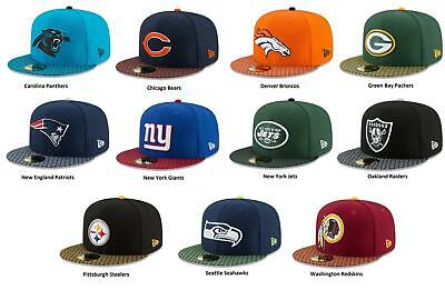 WASHINGTON REDSKINS NEW ERA 59FIFTY FITTED CAP ON FIELD NFL SIDELINE RRP £32