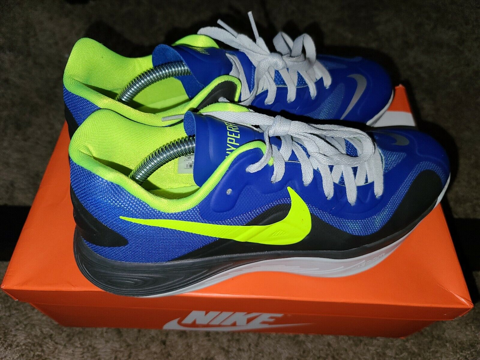 Mens Nike Hyperfuse Low Shoes Size 10