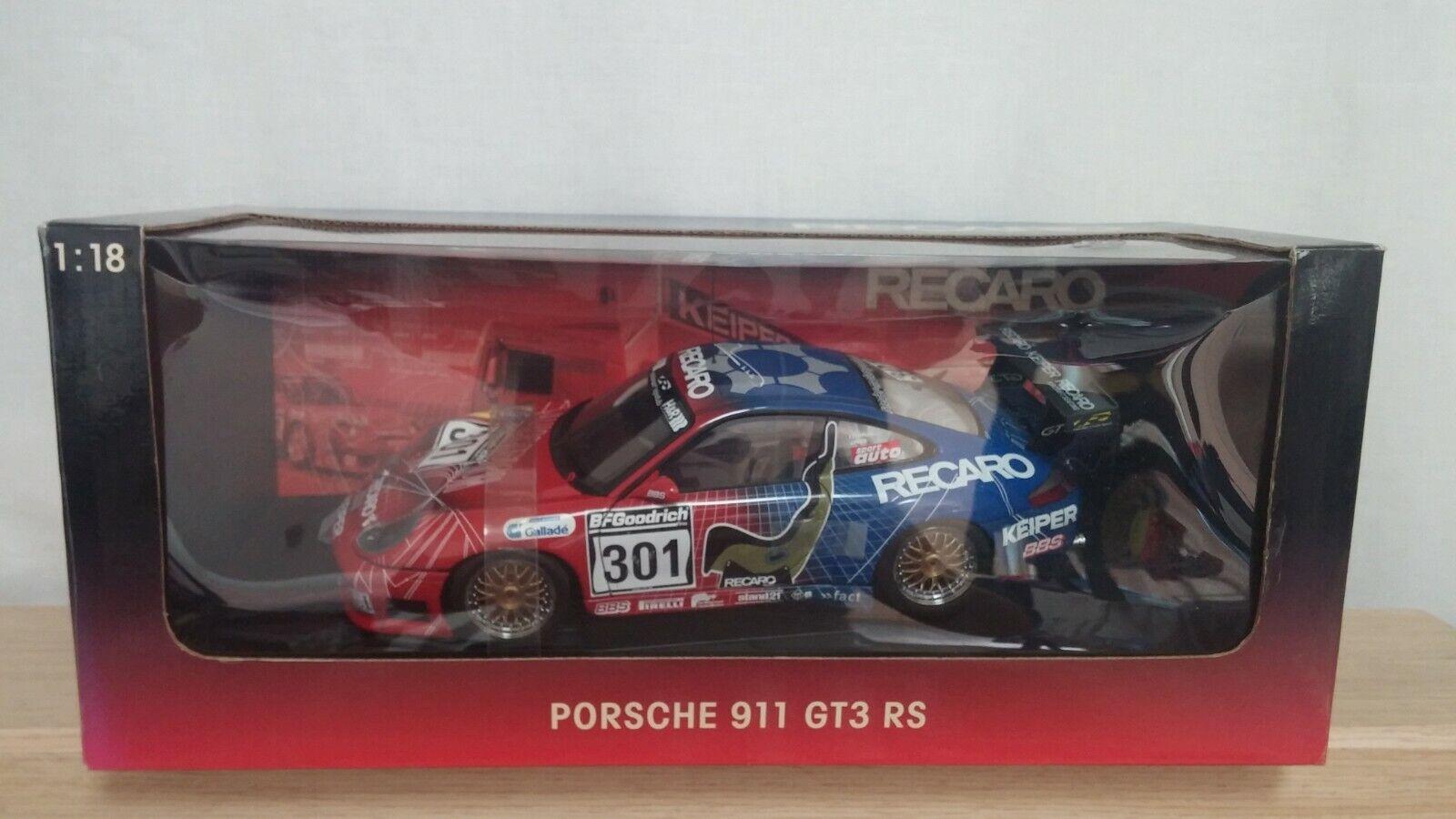 1 18 Autoart Porsche 911 996 GT3 RS recaro