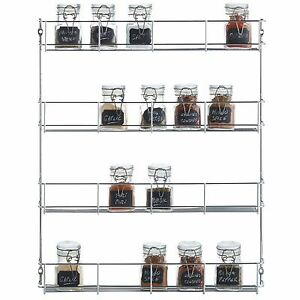 VonShef-4-Tier-Spice-Holder-Rack-Pantry-Organizer-Chrome-Plated-Herbs-Spices