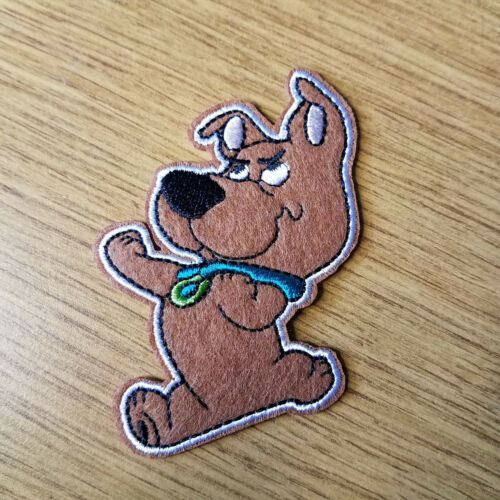 Scooby Doo Scrappy Doo Embroidered patch 3  inches tall