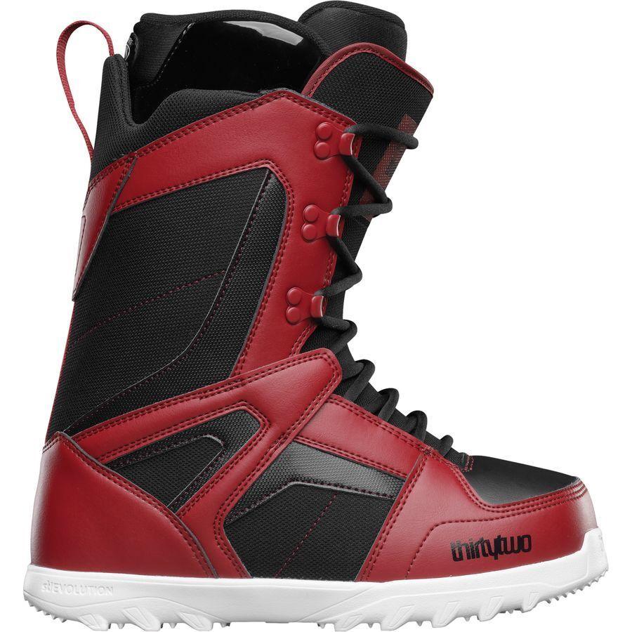 Zweiunddreißig Herren Prion Snowboard Stiefel (9) Rot Schwarz