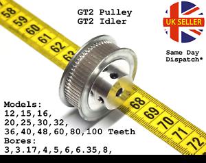 GT2-la-temporizzazione-della-puleggia-Liscio-Tendicatena-dente-6mm-12-15-16-20-30-36-40-60-80-100