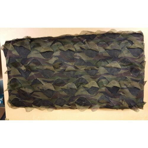 Wildhunter Stealth Net 4x1.5m Woodland Camo Hunting Hide Netting 2 Ply