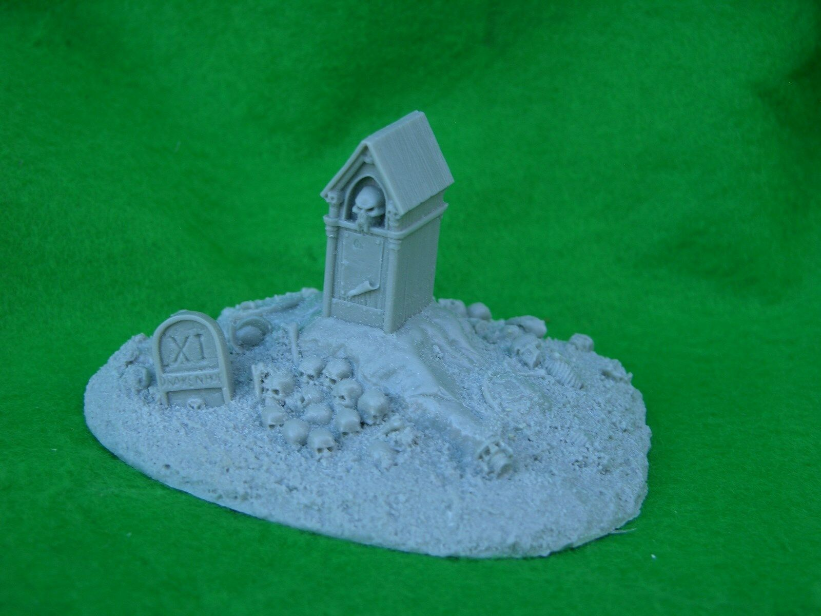 Forgeworld, Warhammer Decoración, Road Side Shrine, sin Pintar