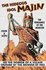 Daimajin Poster 02 Metal Sign A4 12x8 Aluminium