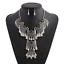 Fashion-Women-Crystal-Chunky-Pendant-Statement-Choker-Bib-Necklace-Jewelry-New miniature 3