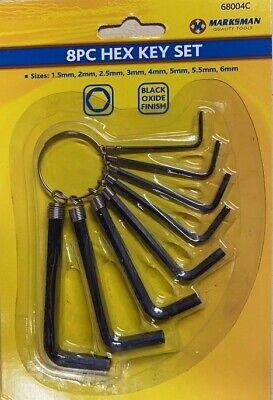 10 Hex Jeu de clés Allen commune métrique Taille Small//Large Offset Allan//Alan