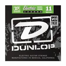 Dunlop 11-50 Nickel Medium Heavy Electric Guitar Strings Made in USA DEN1150