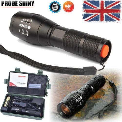 5000LM X800 CREE T6 LED Flashlight G700 Outdoor Sport shadowhawk Torch Lamp Kit