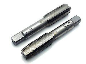 12 mmx1.25 HSS Metric Taper /& Plug Tap Right Hand Stock