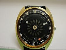 Mens Ernest Borel by Synchron Automatic Mystery Dial Watch