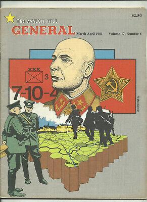 Avalon Hill, La Rivista Generale-volume 17 #6 (1981)-