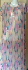 $108 NWT Victorias Secret Swim Large Sequin Bling Caftan LongBeach CoverUp N249