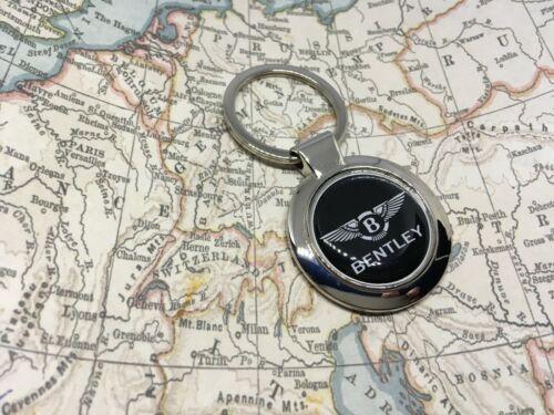 Bentley Bedruckt Logo Schlüsselanhänger Chrom Continental Gt Mulsanne
