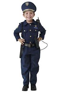 Stock photo  sc 1 st  eBay & Dress up America Halloween Deluxe Police Officer Costume Toddler ...