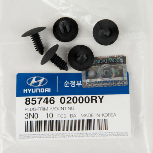 85746-02000RY Genuine OEM Hyundai Kia Plug Mounting 5PC Trim MTG