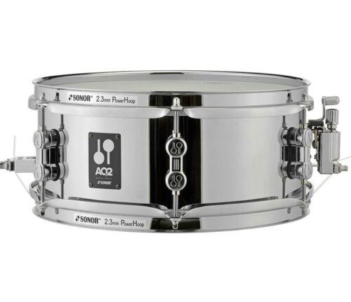 "Sonor AQ2 Snare Drum AQ2 1455 SDS Sonor 14/"" x 5.5/"" AQ2 Steel Snare Drum"