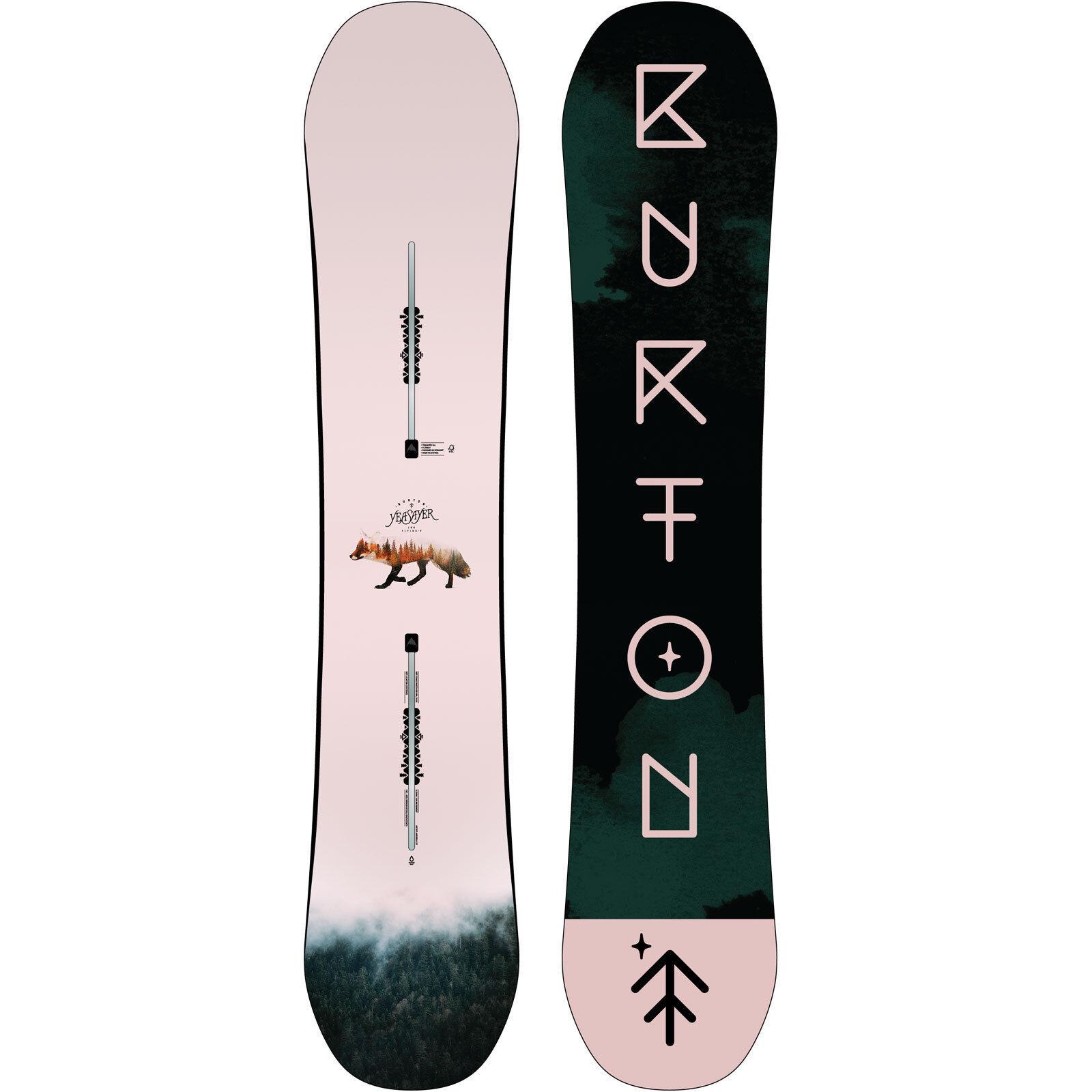 Burton Burton Burton Yeasayer Fv Flying V Snowboard da Donna All Mountain Freestyle Gemelli 2d9119